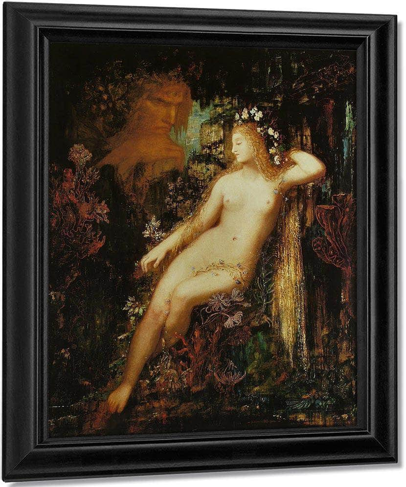 Galatee 1880 By Gustave Moreau