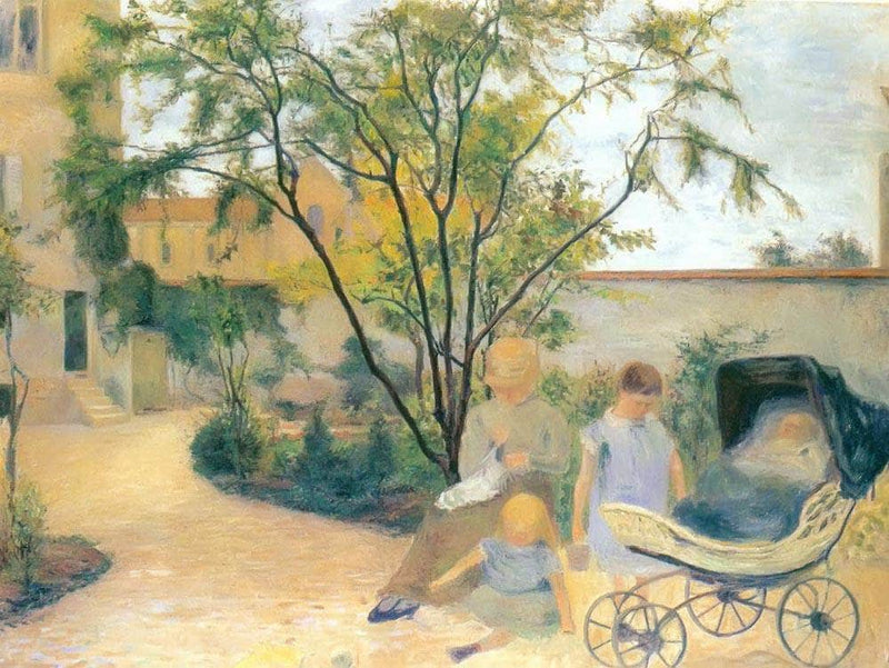 Garden At Vaugirard By Paul Gauguin