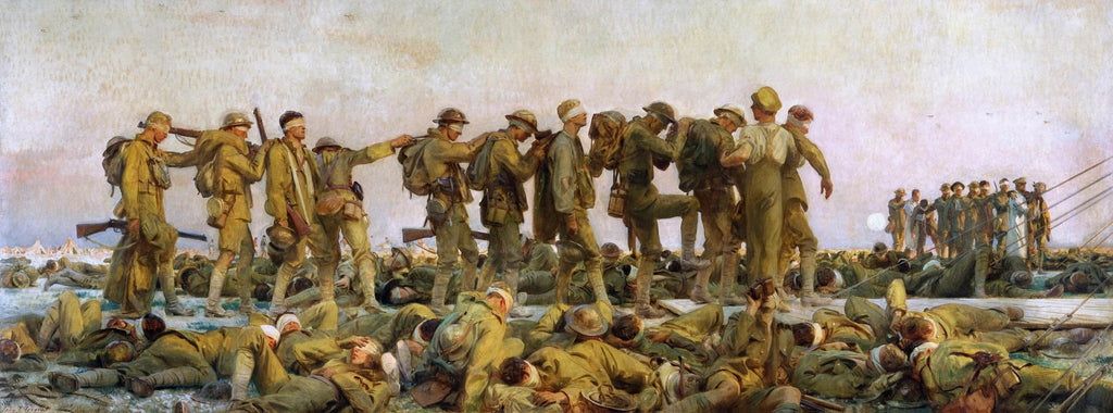 Gassed Painting John Singer Sargent Canvas Art