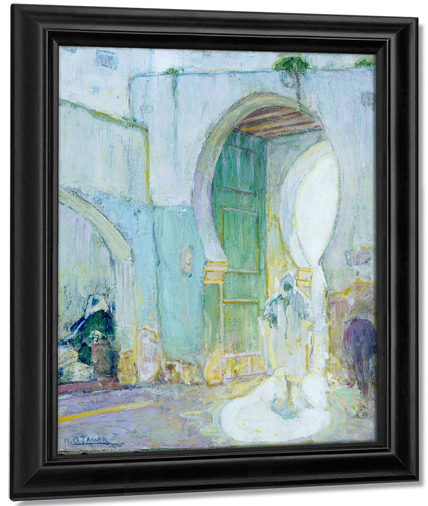 Gateway Tangier 1912 By Henry Ossawa Tanner
