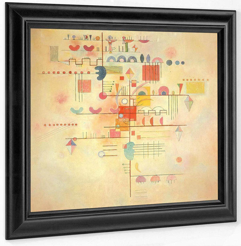 Gentle Ascent By Wassily Kandinsky