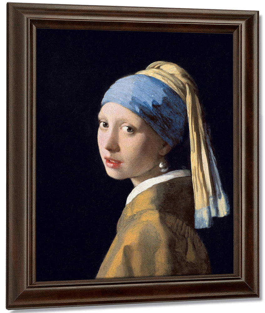 b16747e8ec0 Girl With A Pearl Earring 1665 By Johannes Vermeer