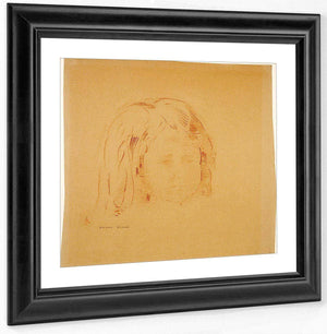 Girl By Odilon Redon