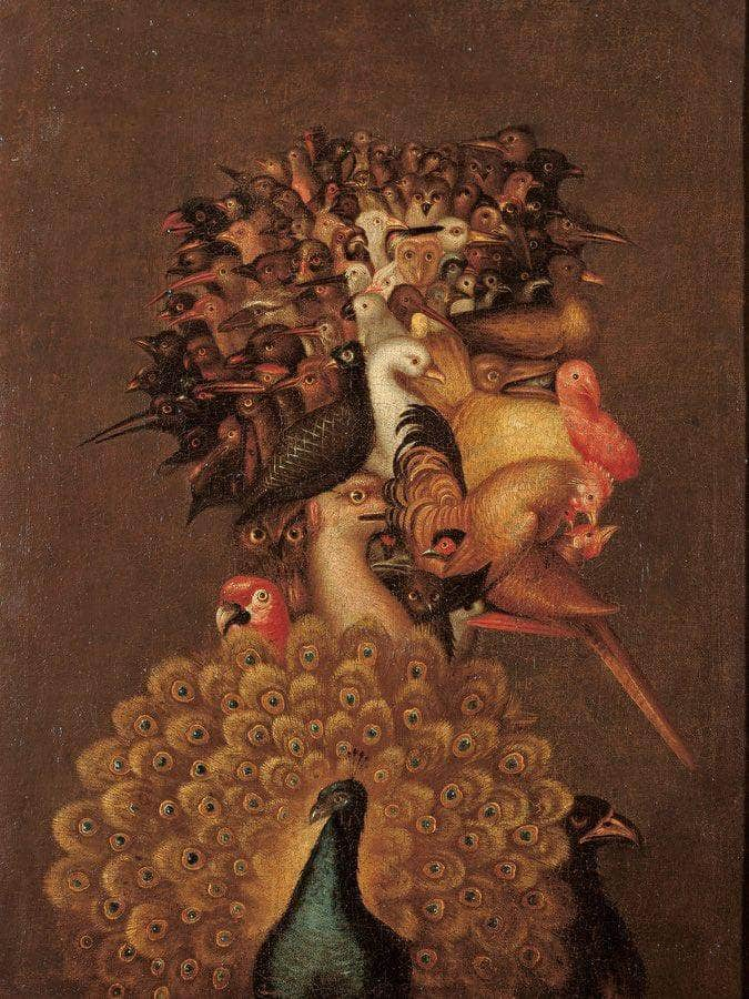 Giuseppe Archimboldo   The Air 1566 74 4X56Cm Pc By Giuseppe Arcimboldo