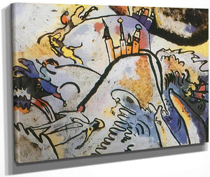 Glass Painting With Sun By Wassily Kandinsky