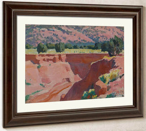Gorge At Short Creek By Maynard Dixon