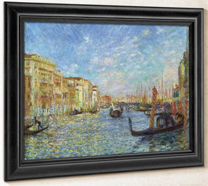 Grand Canal, Venice By Pierre August Renoir