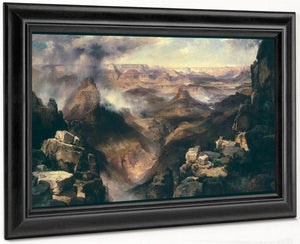 Grand Canyon Of The Colorado River By Thomas Moran