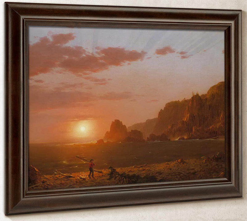 Grand Manan Island Bay Of Fundy By Fredric Edwin Church