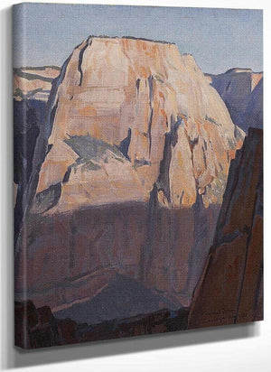 Great White Throne Zion Canyon Utah 1933Maynard Dixon By