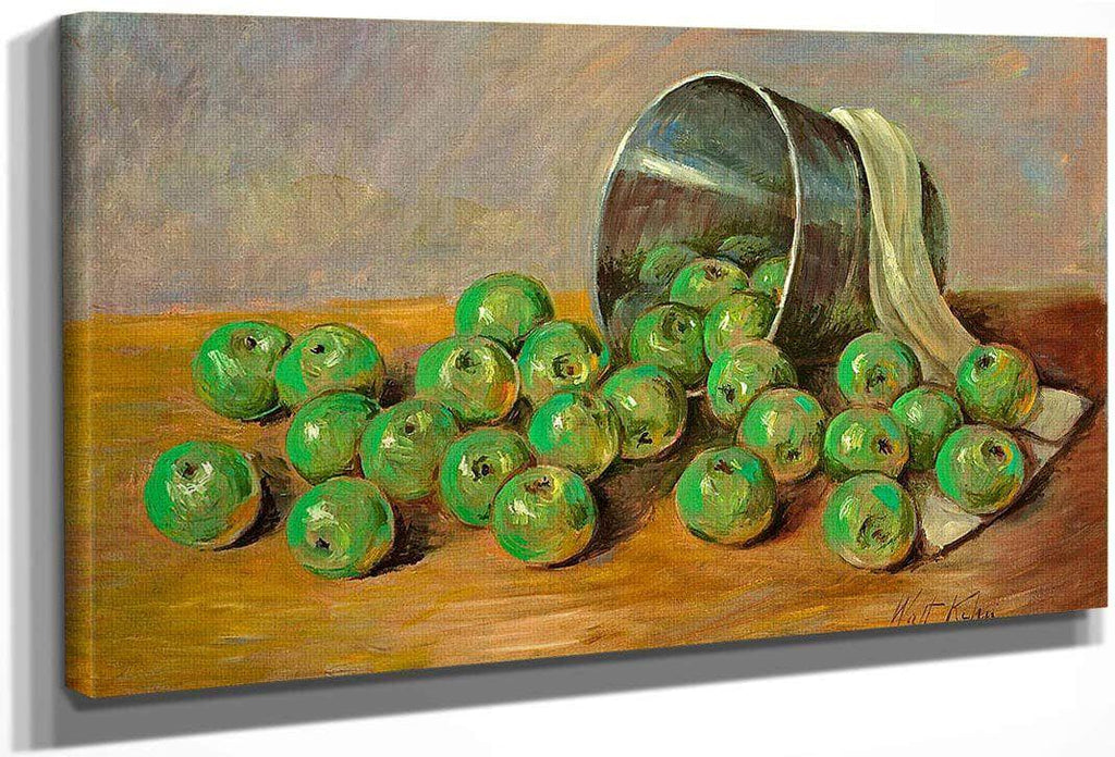 Green Apples By Walt Kuhn