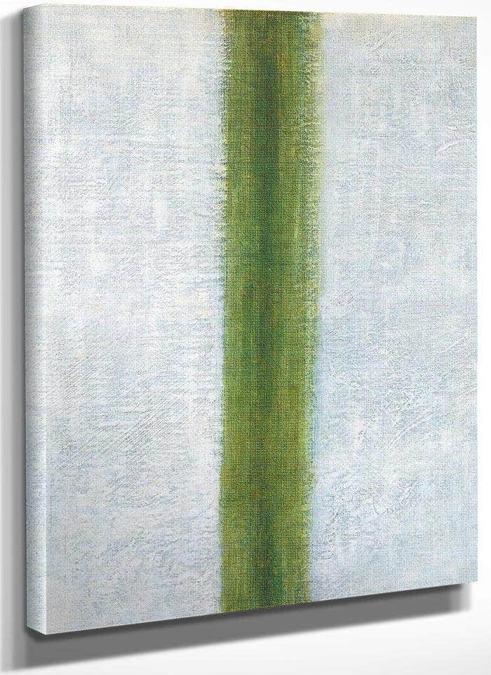 Green Stripe 1917 By Olga Rozanova
