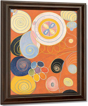 Group Iv No 3 The Ten Largest Youth 1907 By Hilma Af Klint