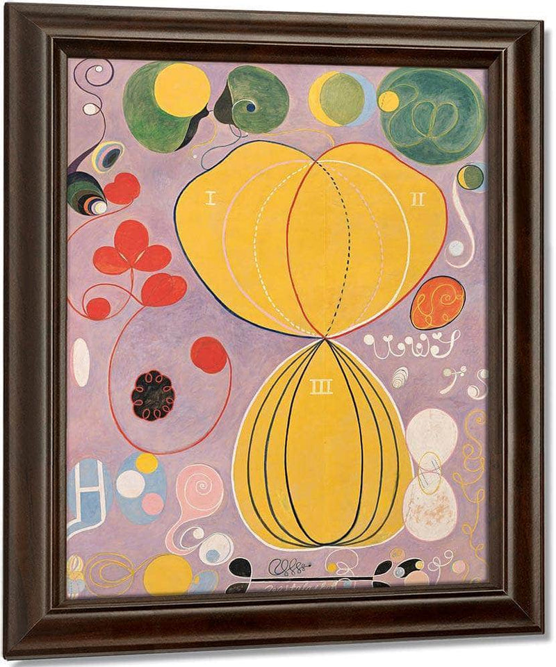 Group Iv No 7 The Ten Largest Adulthood 1907 By Hilma Af Klint
