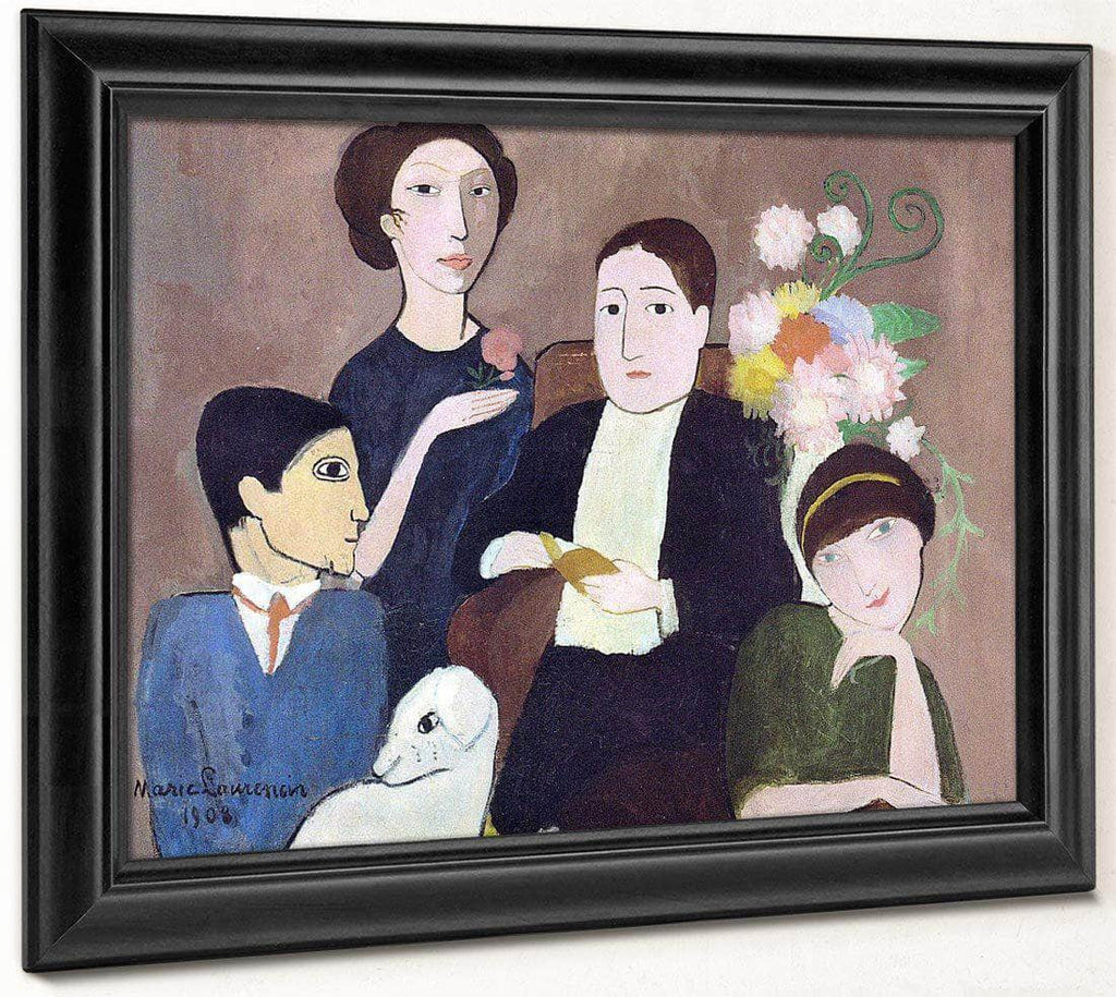 Group Of Artists 1908 By Marie Laurencin