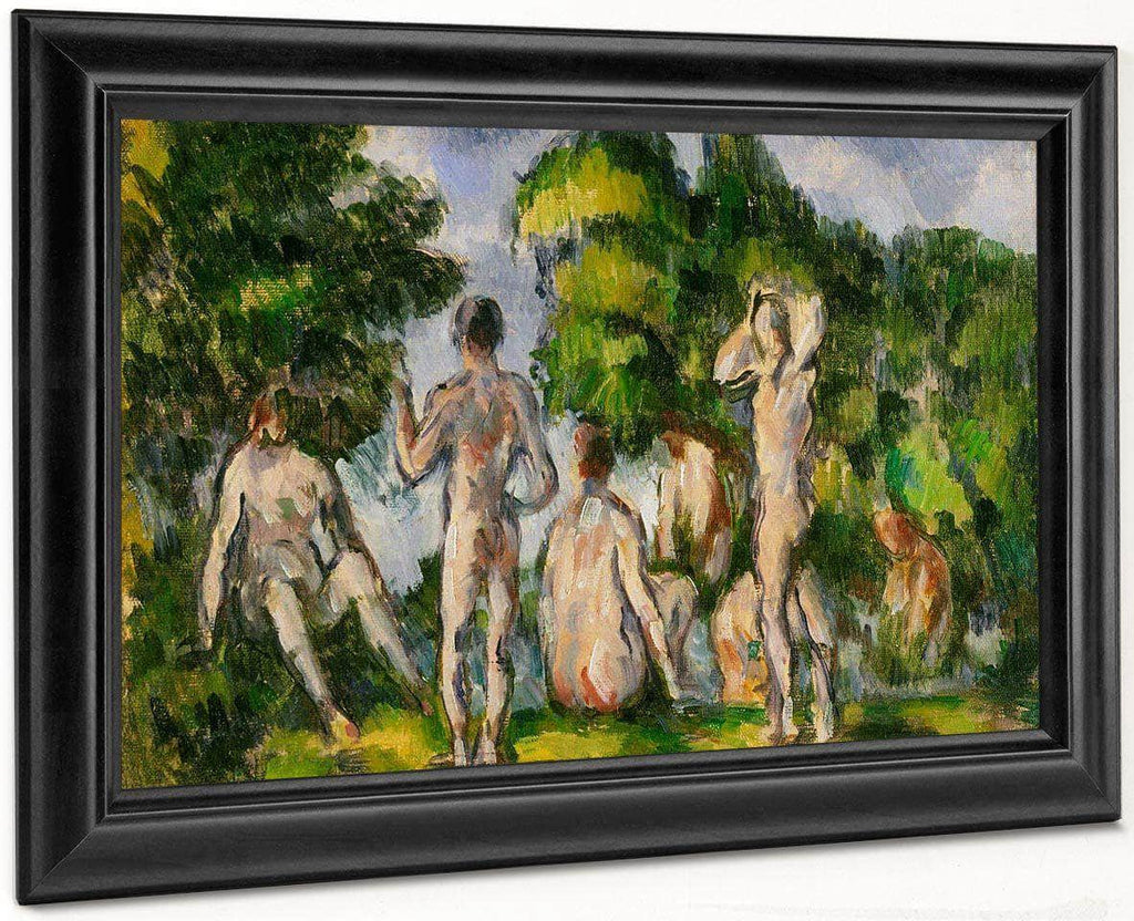 Group Of Bathers By Cezanne Paul