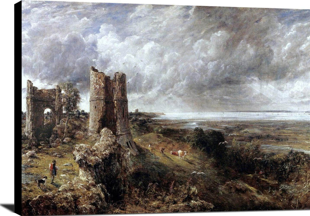 Hadleigh Castle Painting John Constable Canvas Art