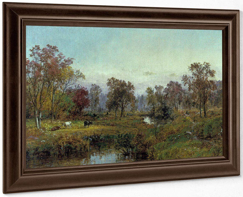 Hastings On Hudson By Cropsey Jasper Francis