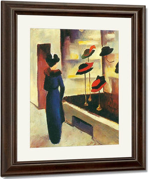 Hat Shop By August Macke