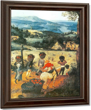 Haymaking By Pieter Bruegel