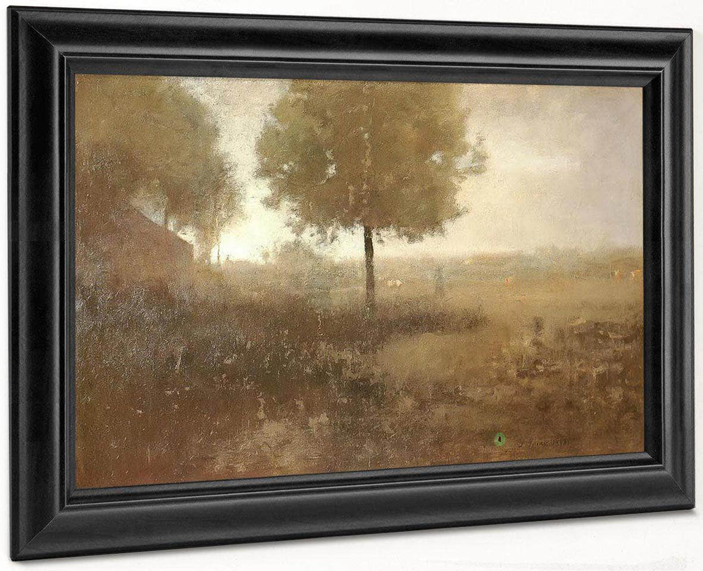 Hazy Morning Montclair By George Inness