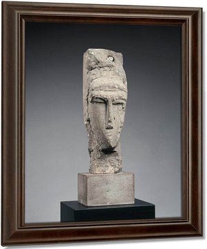 Head (Tête) By Amedeo Modigliani