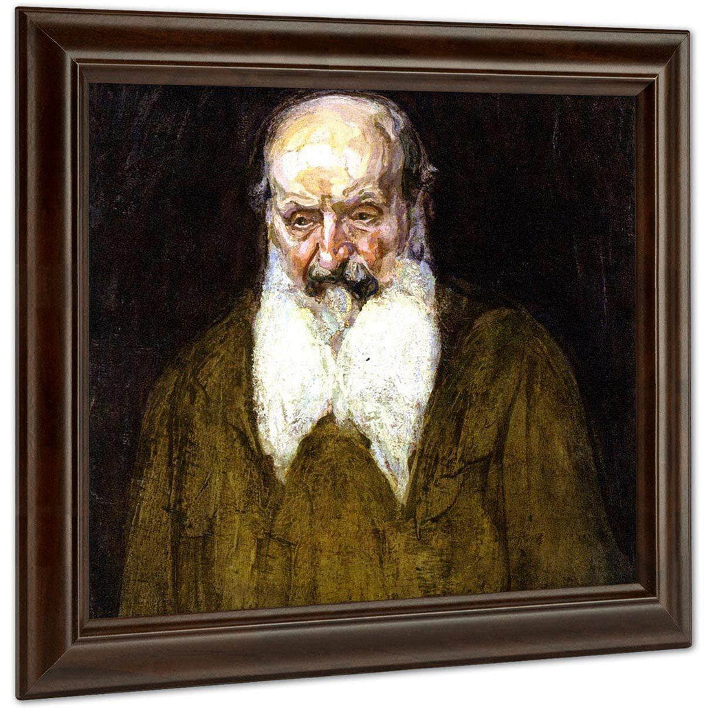 Head Of A Jew In Palestine By Henry Ossawa Tanner