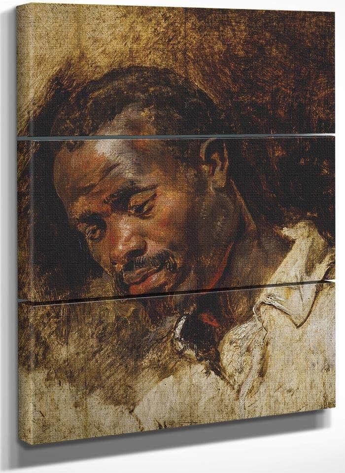 Head Of A Moor By Peter Paul Rubens
