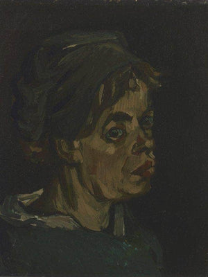 Head Of A Woman 2 By Vincent Van Gogh