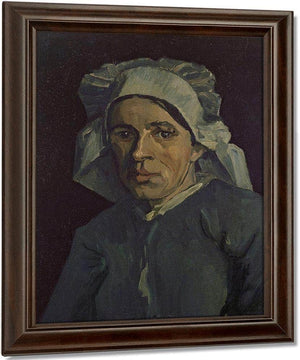 Head Of A Woman By Vincent Van Gogh