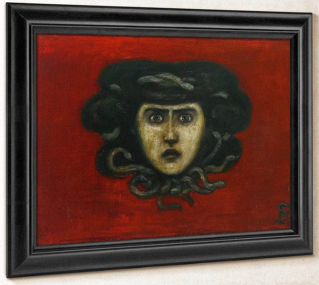 Head Of Medusa By Florine Stettheimer