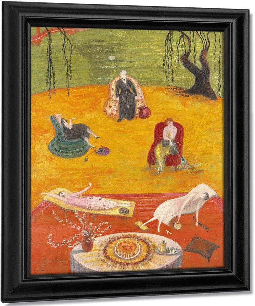 Heat 1919 By Florine Stettheimer