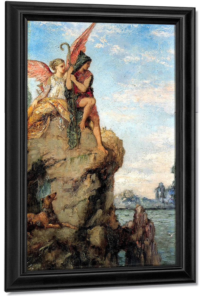 Hesiod And The Muses 1870 By Gustave Moreau