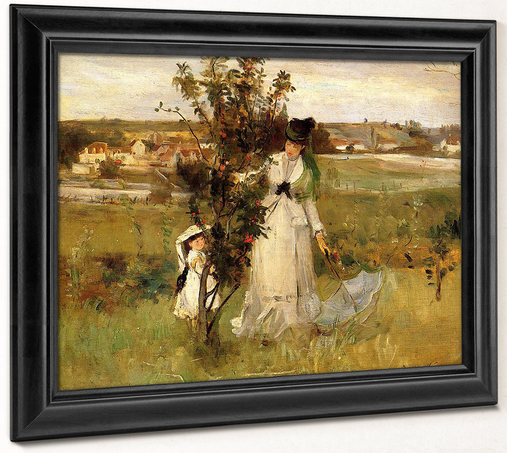 Hide And Seek 1873 Oil On Canvas By Berthe Morisot
