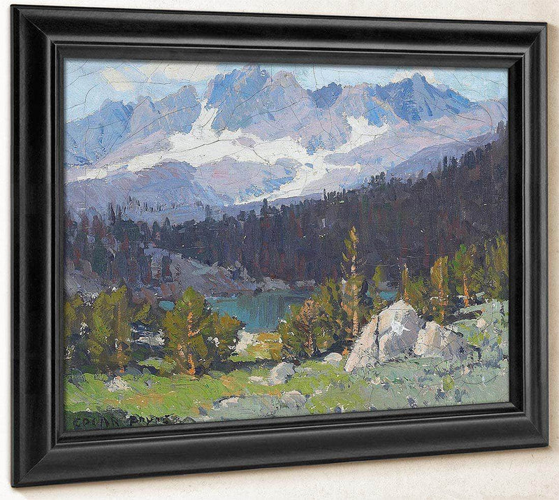 High Sierras By Edgar Payne