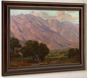 Hills At Altadena By  Edgar Payne