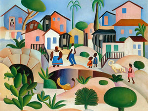 Hills Of The Favela By Tarsila Do Amaral