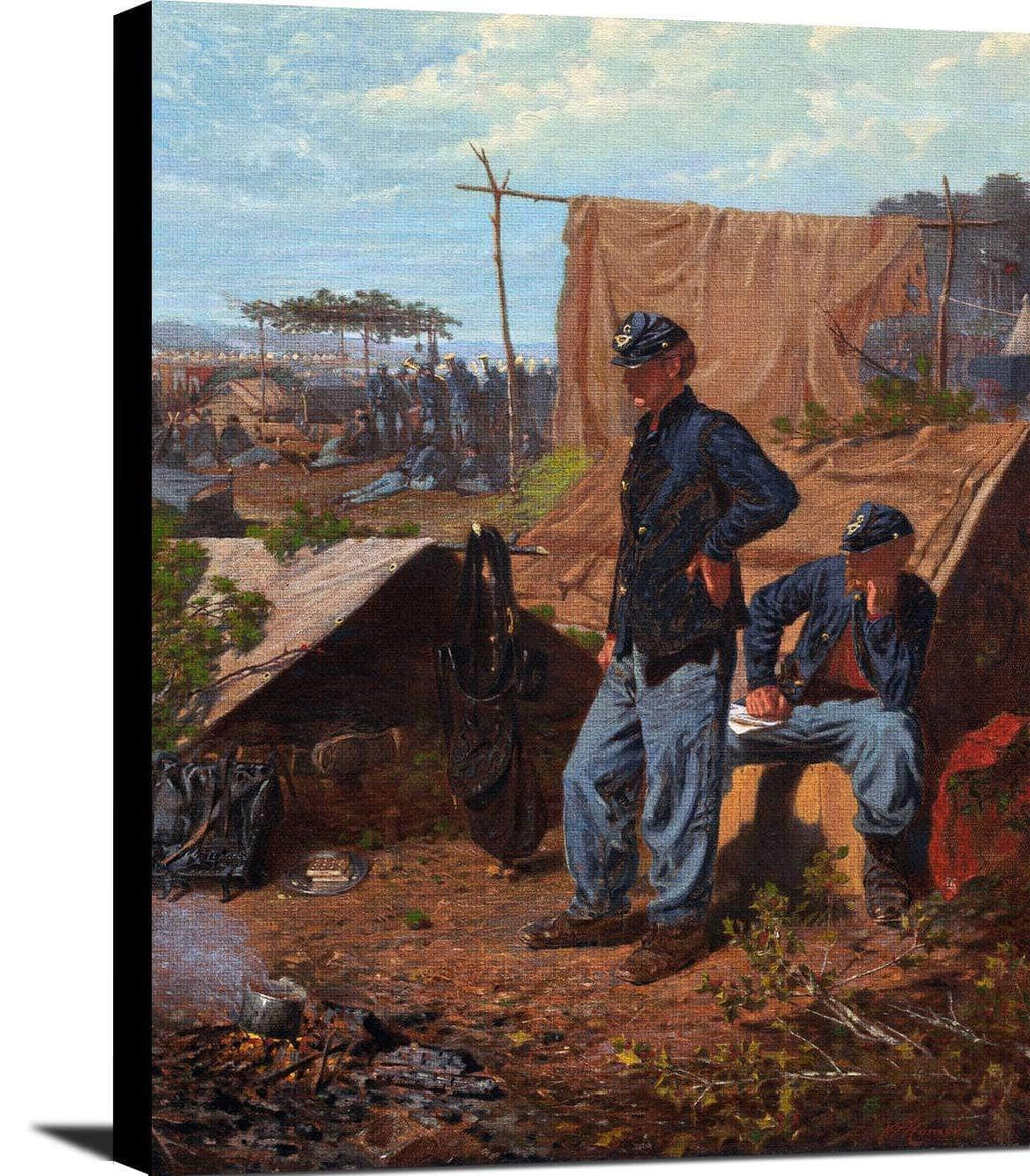 Home Sweet Home Painting Winslow Homer Canvas Art