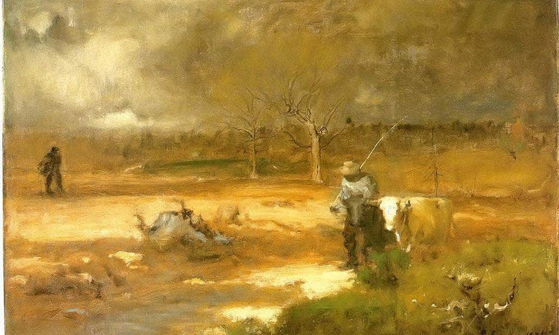 Homeward By George Inness