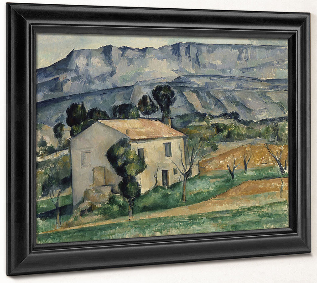 House In Provence By Paul Cezanne