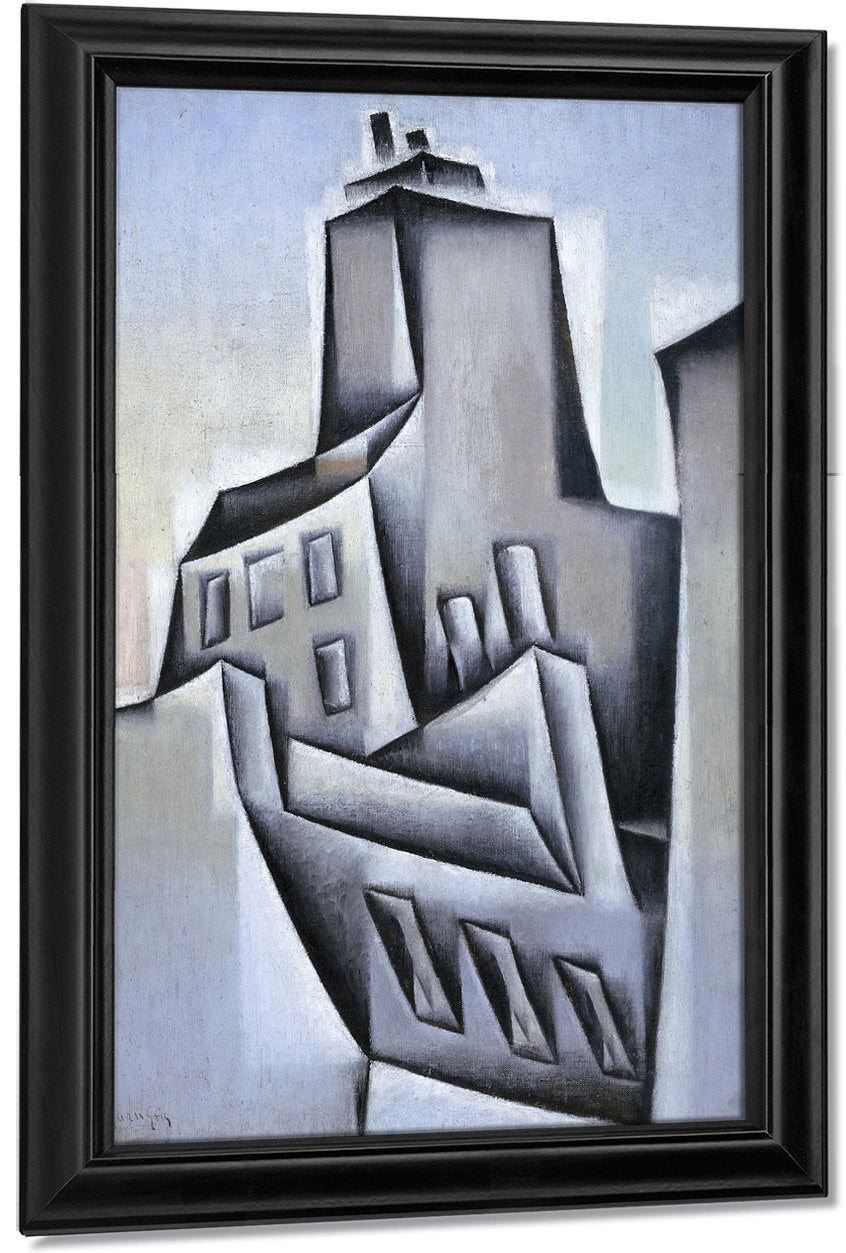 Houses In Paris By Juan Gris