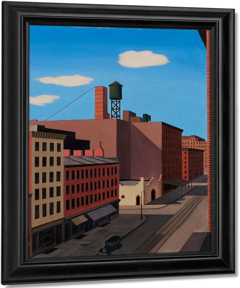 Hudson Street By George Ault