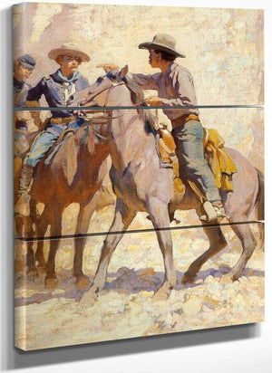 I Call Myself A Soldier By Maynard Dixon