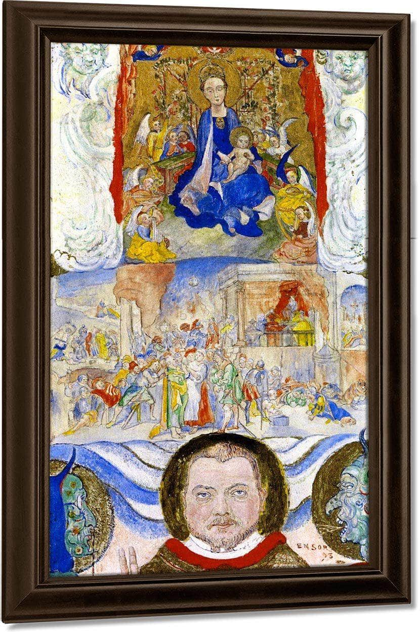 Icon By James Ensor