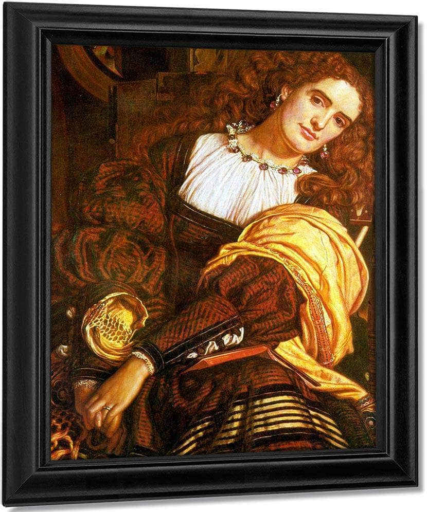 Il Dolce Far Niente 1866 Oil On Canvas Forbes Magazine Collection By William Holman Hunt