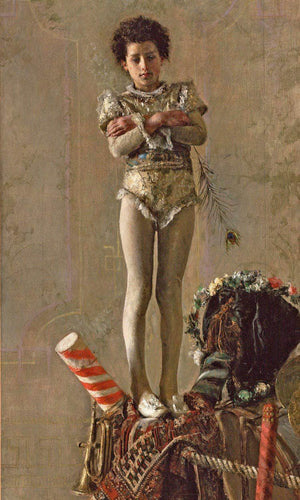 Il Saltimbanco By Antonio Mancini