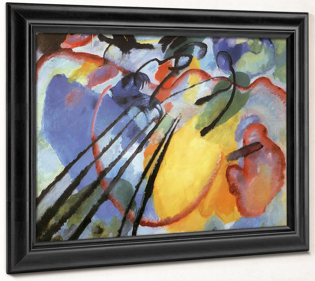 Improvisation 26 (Oars) By Wassily Kandinsky
