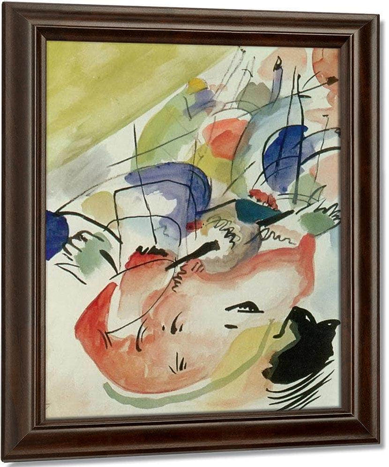 Improvisation Xxxi ( Naval War) M9 Wassily Kandinsky By
