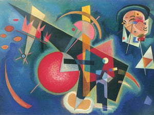 In Blue 1925 By Wassily Kandinsky