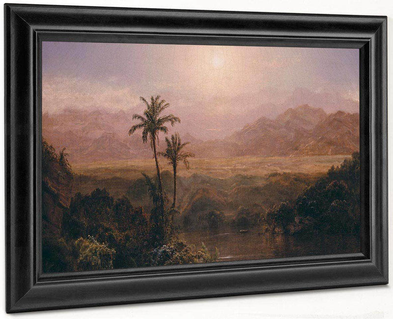 In The Andes By Fredric Edwin Church